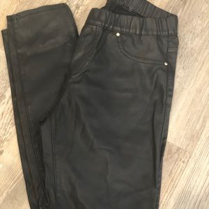 Zara Pants - Black Faux Leather Zara Pants!
